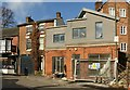 SK1746 : Houses old and new, Union Street, Ashbourne by Alan Murray-Rust