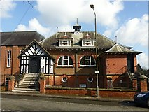 SK1746 : Century Hall, Station Road, Ashbourne by Alan Murray-Rust