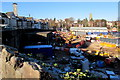 ST3088 : Network Rail construction site, Newport by Jaggery