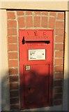 SS5318 : Victorian postbox, Kingscott by Derek Harper