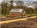 SJ8383 : Quarry Bank Mill Kitchen Garden by David Dixon