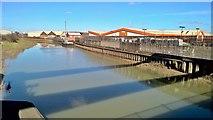 TA1031 : River Hull from Stoneferry Bridge by Chris Morgan