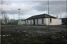 NS6168 : Springburn Depot, Springburn Park by Richard Sutcliffe