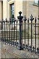 SE0925 : Former Sion Chapel railings, Wade Street by Alan Murray-Rust