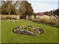 TQ4109 : Flowerbed - Southover Grange by Paul Gillett