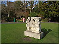 TQ4109 : Stone Sculpture - Southover Grange by Paul Gillett