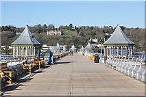 SH5873 : Garth Pier (Bangor Pier) by Jeff Buck