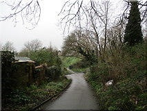 SY6778 : Access to rear of Chickerell Road and the Marsh Sports Ground by John Stephen