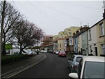 SY6778 : Weston Road looking towards Spinnaker View by John Stephen