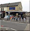 ST7364 : Discount Store on an Oldfield Park corner, Bath by Jaggery