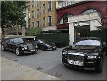 TQ2879 : Wellesley Hotel, Hyde Park Corner by Hugh Venables