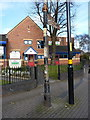 SP0490 : Pre-Worboys  roadsign in Handsworth by Richard Law