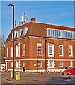 TQ3294 : Winchmore Hill Telephone Exchange, London N21 by Julian Osley