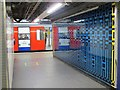 TQ2879 : Victoria tube station, Victoria Line - ceramic tiles (3) by Mike Quinn