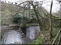 NZ0120 : Footbridge over River Balder by David Brown