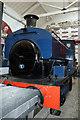 SD8010 : Bury Transport Museum - steam locomotive by Chris Allen