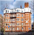 TQ2478 : Kensington Mansions, Warwick Road, Earls Court by Julian Osley