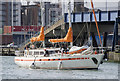 J3575 : Yacht 'Mar Y Poles' at Belfast by Rossographer