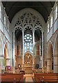 TQ2273 : Holy Trinity, Ponsonby Road, Roehampton - Screen by John Salmon