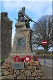 NX6851 : War Memorial, Kirkcudbright by Billy McCrorie