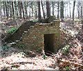 TM0188 : All that remains of an air raid shelter by Evelyn Simak
