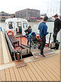 ST5772 : Cross-harbour ferry at Hannover Quay by Oliver Dixon
