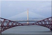 NT1279 : Three generations of Forth bridges by Jim Barton
