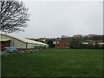 SY6778 : The Marsh Sports Ground by John Stephen
