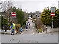 NH6743 : Inverness half marathon, on Burn Road by Craig Wallace