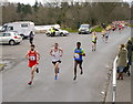 NH6644 : Inverness half marathon, Bught Road by Craig Wallace