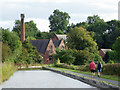 SK3410 : The Ashby Canal near Snarestone in Leicestershire by Roger  Kidd