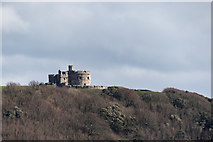 SW8031 : Pendennis Castle, Falmouth, Cornwall by Christine Matthews