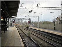 SP8633 : Bletchley Station Looking North by Roy Hughes