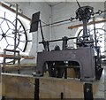 SJ9494 : Hyde Town Hall Clock mechanisim by Gerald England