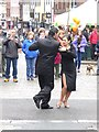 NY5130 : Tango demonstration by Oliver Dixon