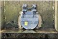 J3674 : Connswater drain flap, Belfast (March 2017) by Albert Bridge