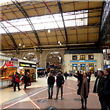 TQ2879 : Victoria Station, Sunday afternoon by Robert Eva