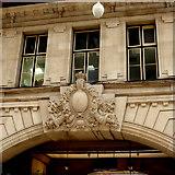 TQ2879 : Stonework detail at Victoria station by Robert Eva
