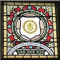 SJ9494 : Mayoral Window: Walter I Sherry by Gerald England