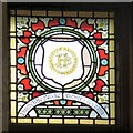 SJ9494 : Mayoral Window: Hinchliffe Brooke by Gerald England