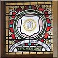 SJ9494 : Mayoral Window: John Mirfin by Gerald England