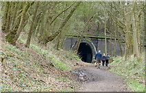 SP7579 : South portal of the Kelmarsh Tunnel by Mat Fascione
