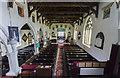 TA0977 : All Saints' church interior, Hunmanby by Julian P Guffogg