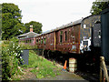 SK3706 : Waiting for restoration at Shackerstone, Leicestershire by Roger  Kidd