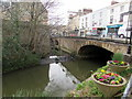 ST7748 : The Bridge over the River Frome in Frome town centre by Jaggery