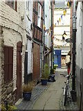SO4959 : Butchers Row, Leominster by Philip Halling