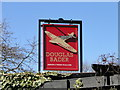 TM2445 : The sign of the 'Douglas Bader' public house by Adrian S Pye