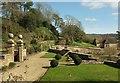 SY5195 : Gardens, Mappercombe Manor by Derek Harper