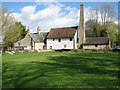TL2745 : Hook's Mill and engine house by John Sutton