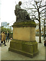 SJ8498 : Statue of James Watt, Piccadilly Gardens, Manchester by Stephen Craven